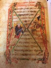 Concluding Words of St. Mark's Gospel